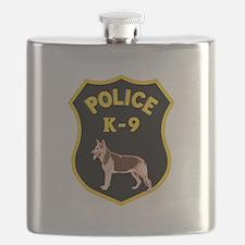 K9 Police Officers Flask