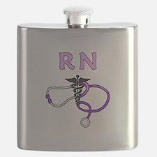 RN Nurse Medical Flask