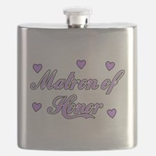 Matron of Honor Flask