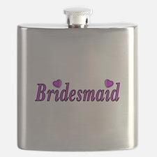Bridesmaid Simply Love Flask