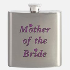 Mother of the Bride Love Flask