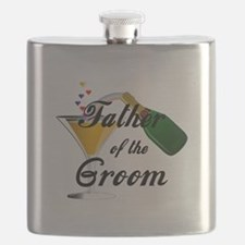 Wedding Toast Father of the Groom Flask