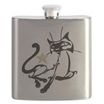 Siamese Cat Royalty Flask