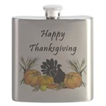 Happy Thanksgiving Flask