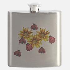 Ladybug Party Flask