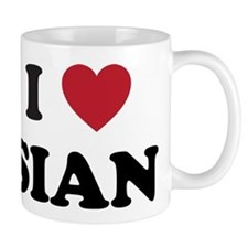 I Love Sian Small Mug