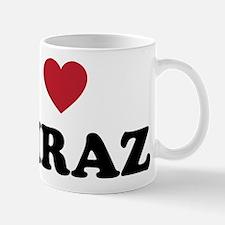 I Love Shiraz Mug