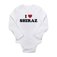 I Love Shiraz Onesie Romper Suit