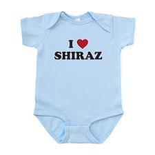 I Love Shiraz Onesie