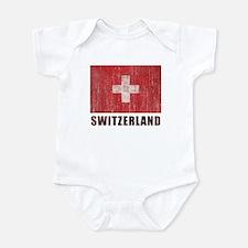 Vintage Switzerland Infant Bodysuit