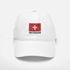 Vintage Switzerland Baseball Baseball Cap