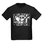 Gothic Skull Art Kids Dark T-Shirt