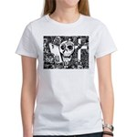 Gothic Skull Art Women's T-Shirt
