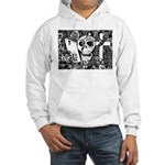 Gothic Skull Art Hooded Sweatshirt