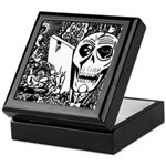 Gothic Skull Art Keepsake Box