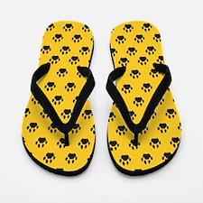 Cougar Paw Flip Flops