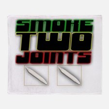 Swoke Two Joints Throw Blanket