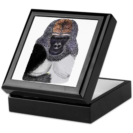 African Mountain Gorilla Keepsake Box
