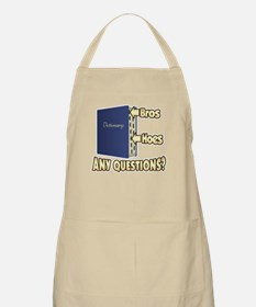 Bros Before Hoes Apron