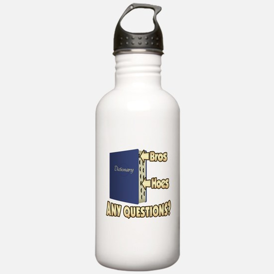 Bros Before Hoes Water Bottle