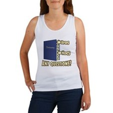 Bros Before Hoes Women's Tank Top