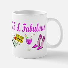 HAPPY 75TH BIRTHDAY Mug