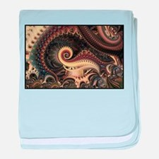 Fractal baby blanket