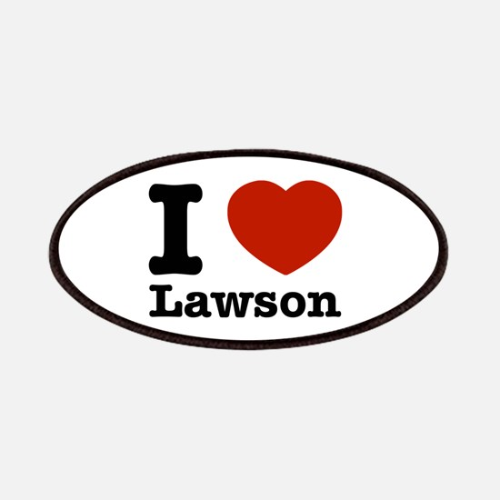 I Love Lawson Patches