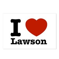 I Love Lawson Postcards (Package of 8)