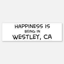 Westley - Happiness Bumper Bumper Bumper Sticker