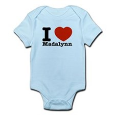 I Love Madalynn Infant Bodysuit