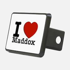I Love Maddox Hitch Cover