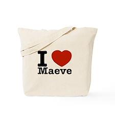 I Love Maeve Tote Bag