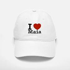 I Love Maia Baseball Baseball Cap