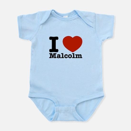 I Love Malcolm Infant Bodysuit