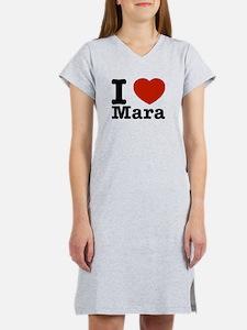 I Love Mara Women's Nightshirt