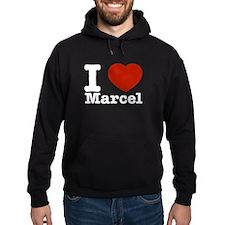 I Love Marcel Hoodie