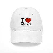 I Love Marcel Baseball Cap