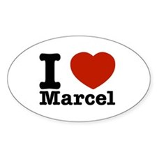 I Love Marcel Decal