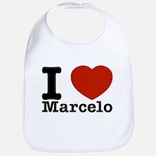 I Love Marcelo Bib