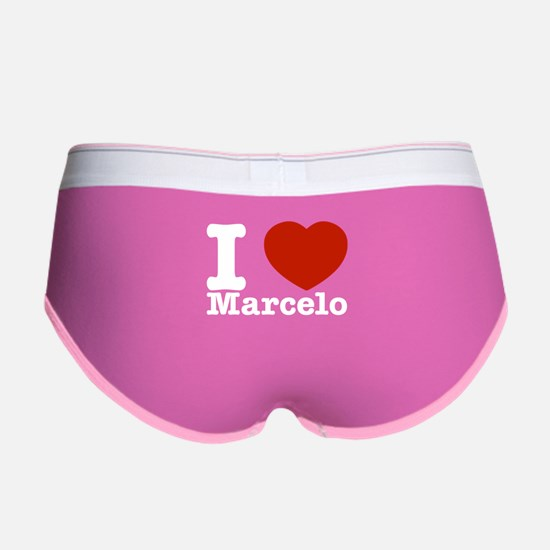 I Love Marcelo Women's Boy Brief