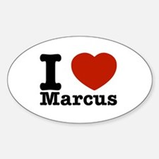 I Love Marcus Decal