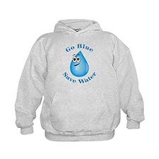 Go Blue - Save Water Hoodie