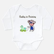 Funny Funny cowboy Long Sleeve Infant Bodysuit