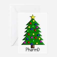 tree pharmD.PNG Greeting Card
