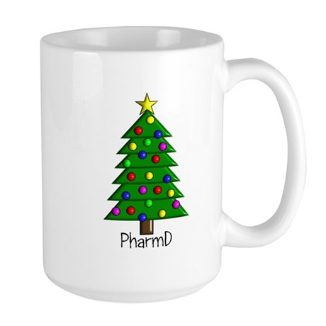 tree pharmD.PNG Large Mug