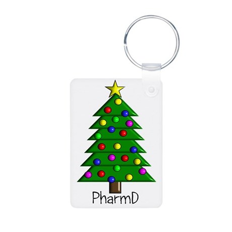 tree pharmD.PNG Aluminum Photo Keychain