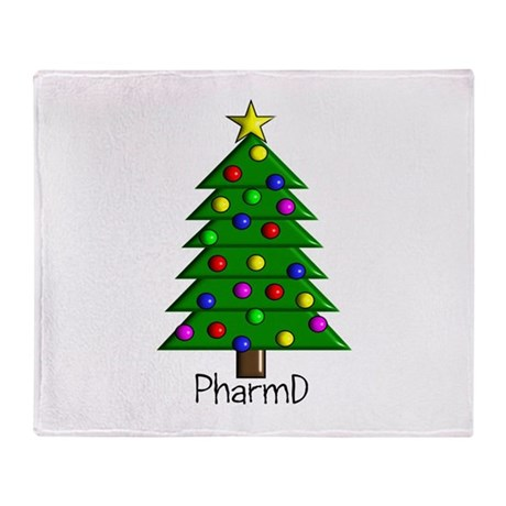 tree pharmD.PNG Throw Blanket