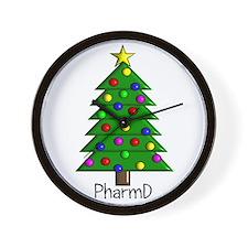 tree pharmD.PNG Wall Clock