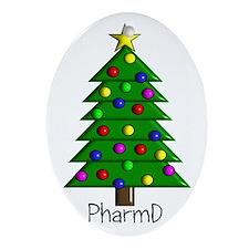 tree pharmD.PNG Ornament (Oval)